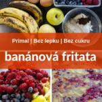 banánová fritata