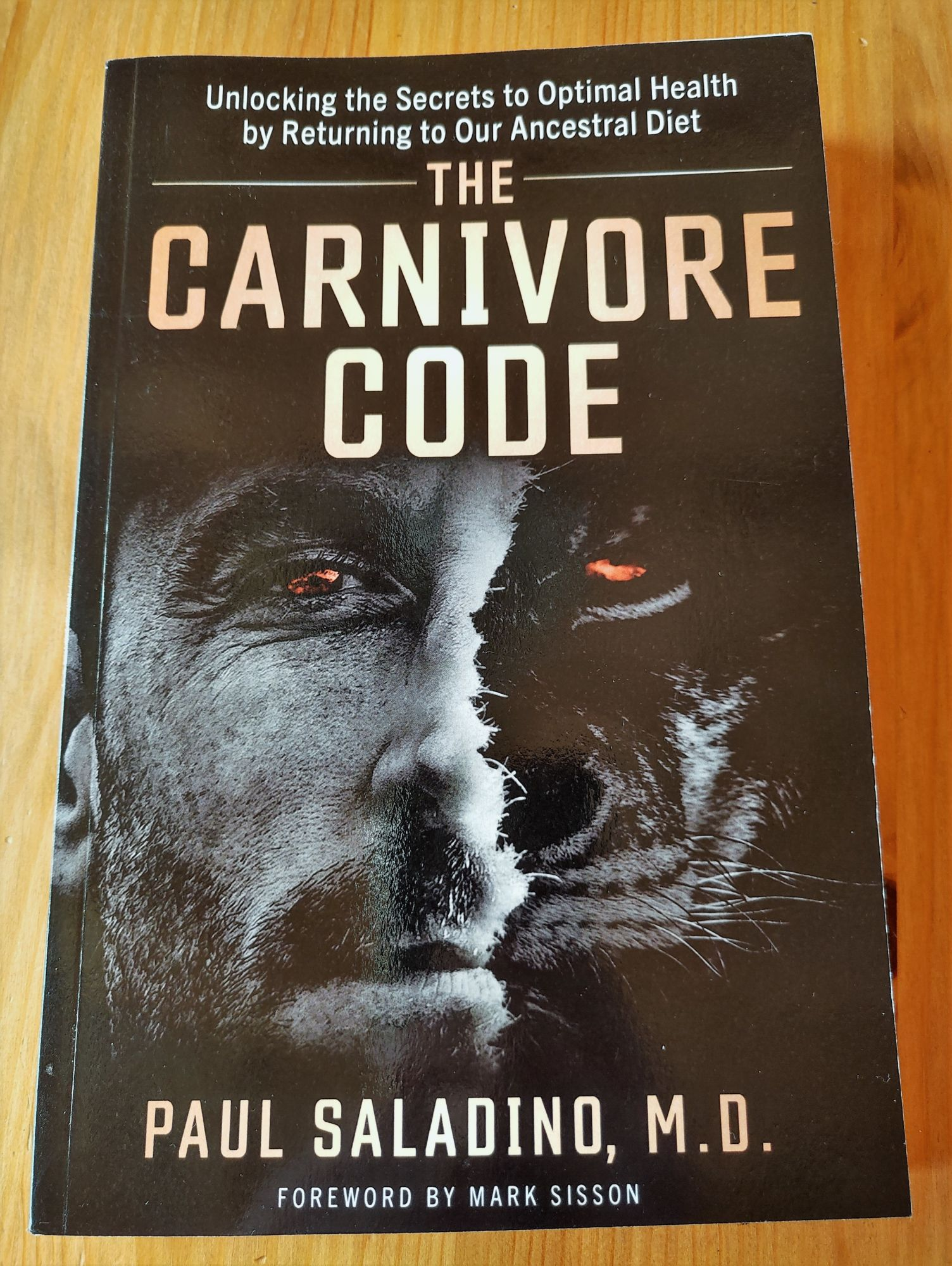 The Carnivore Code - přebal
