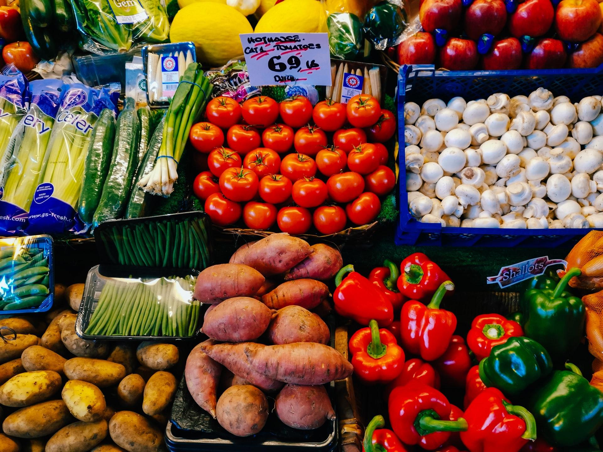 ovoce zelenina trh